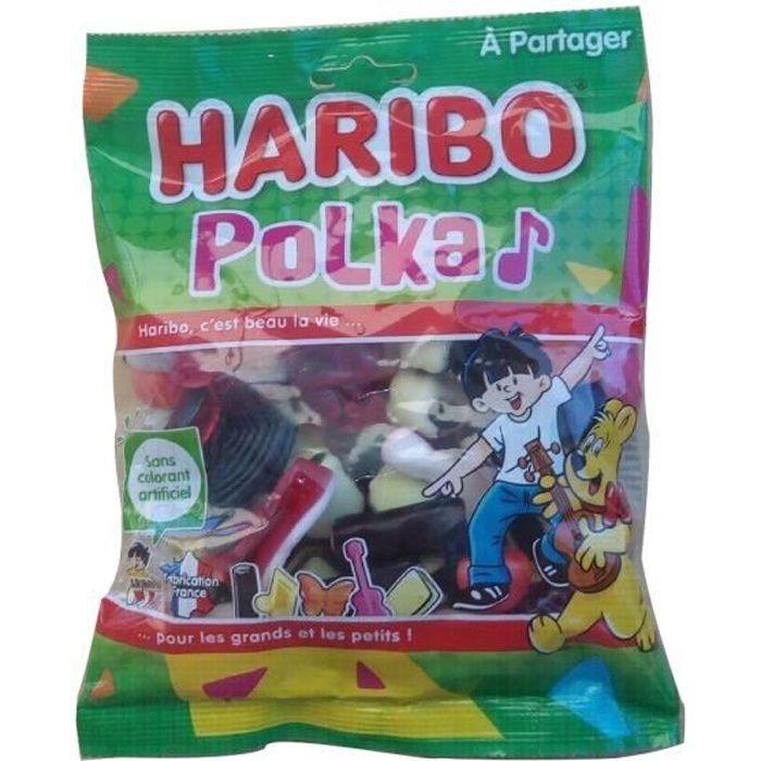 HARIBO Bonbons Polka - Sachet de 300 g