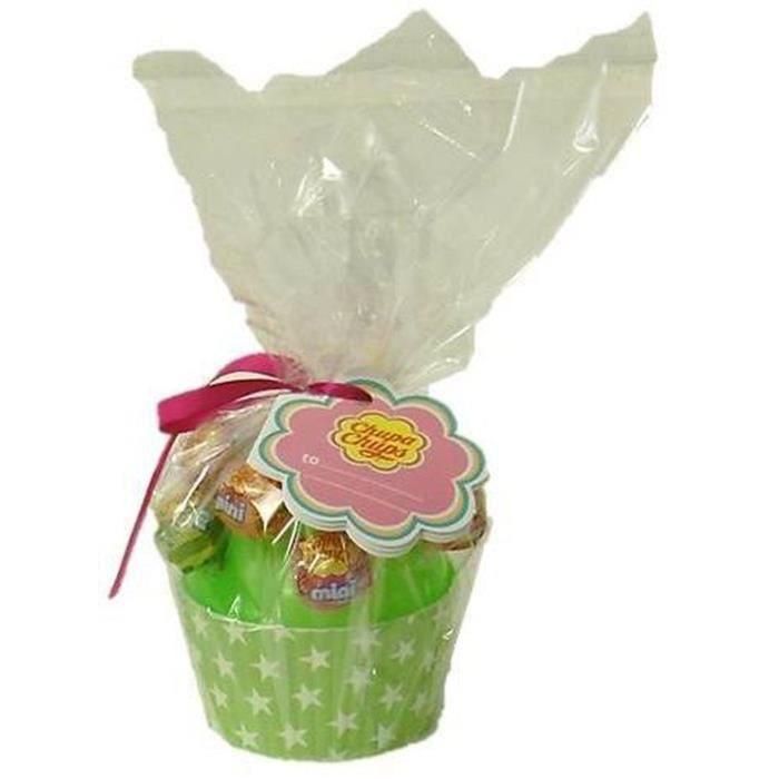 CHUPA CHUPS Cup Cake 10 mini sucettes - 60g