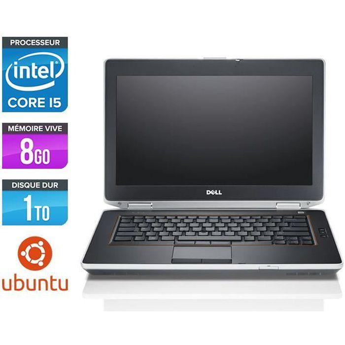 Pc portable Dell E6420 - Core i5 - 8 Go - HDD 1 To - Linux