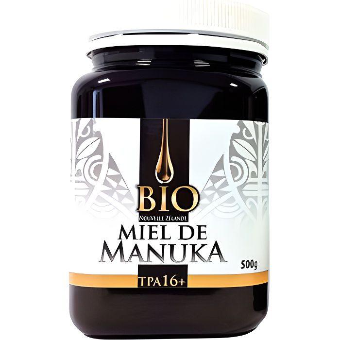 Dr Theiss Miel de Manuka Bio TPA 16 500g