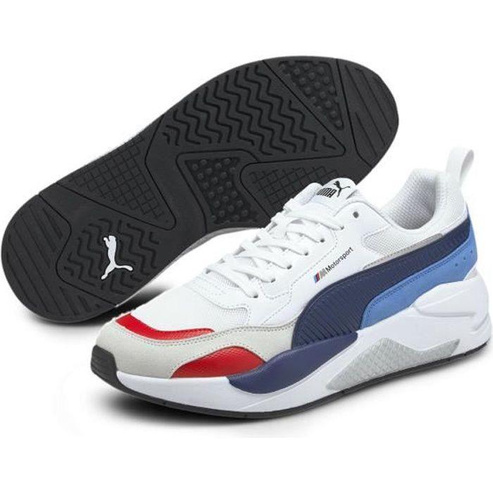 Chaussures de multisports Puma BMW MMS X-RAY 2.0 - blanc/bleu - 36