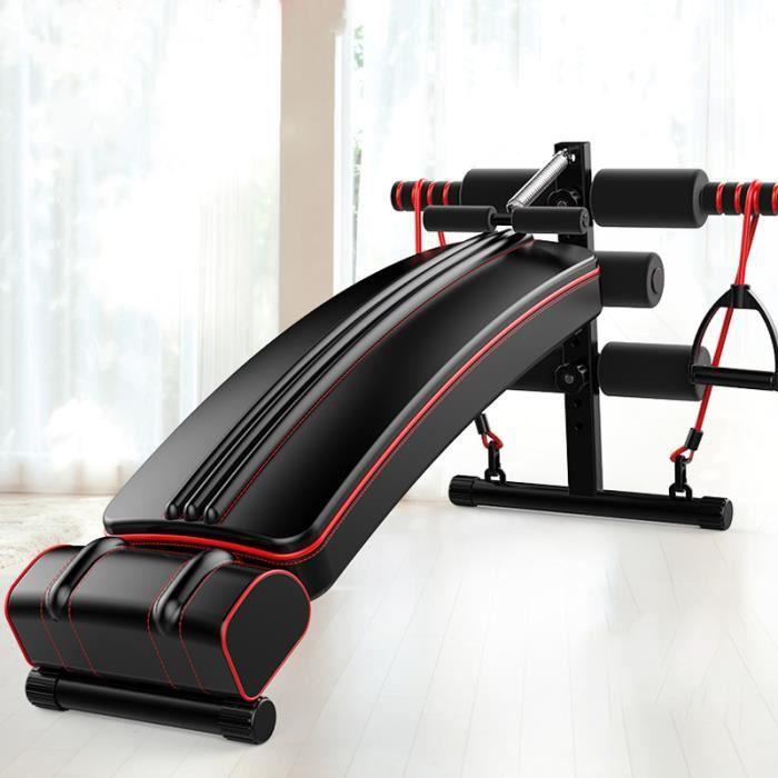 TEMPSA Banc de Musculation Pliable Abdominaux Banc d'Entraînement Appareils de Fitness Maison