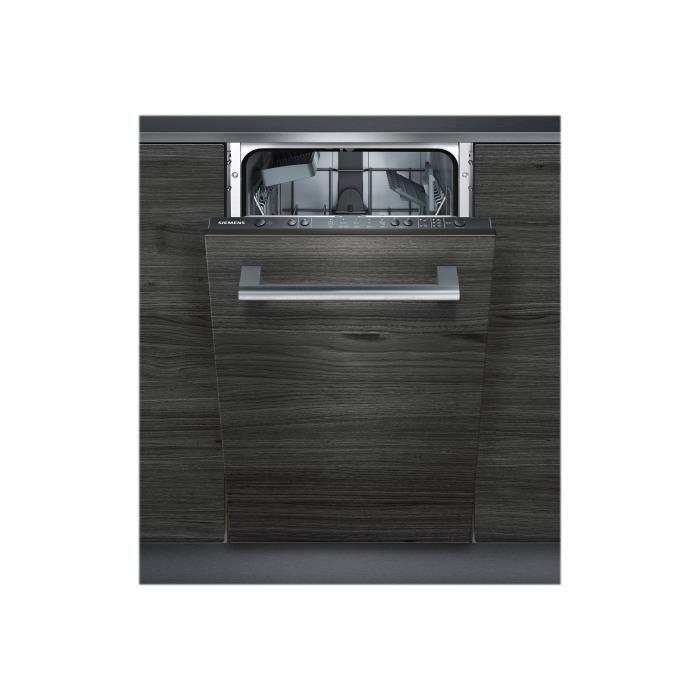 Siemens iQ100 speedMatic45 SR615X03CE Lave-vaisselle intégrable Niche largeur : 45 cm profondeur : 55 cm hauteur : 81.5 cm