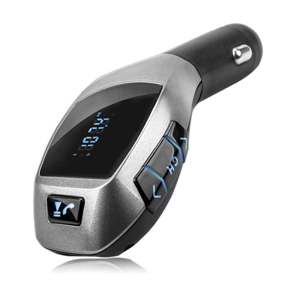 transmetteur voiture Bluetooth FM prise allume cigare auto télécommande lecteur MP3 port clé USB+carte TF IPhone écran music radio