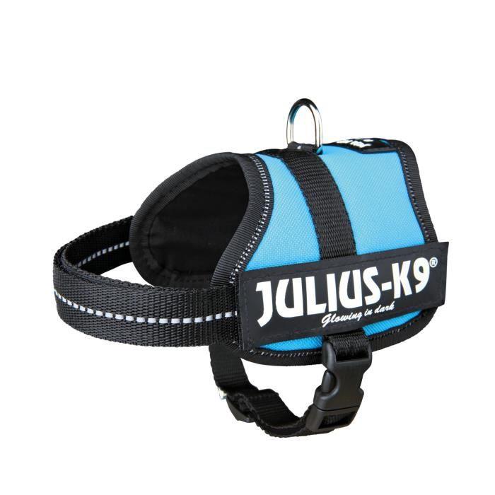 Trixie Julius-K9 - Harnais pour chien Mini Mixte - Bleu - S