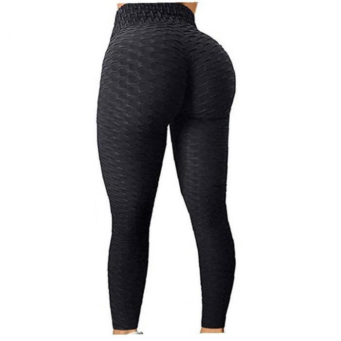 Femmes de yoga leggings hauts bout à bout de fesses tticmy contrôle de sport extensible gym gym pantalon l