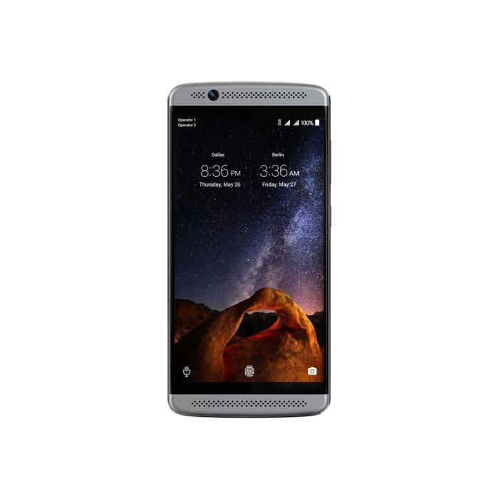 ZTE Axon 7 mini Smartphone double SIM 4G LTE 32 Go microSDXC slot GSM 5.2- 1 920 x 1 080 pixels Super AMOLED 16 MP (caméra avant…