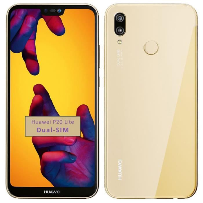 SMARTPHONE D'or- Pour Huawei P20 Lite 64GB RAM 4G occasion dé
