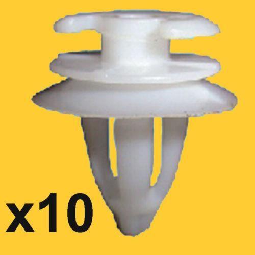 pour Clio,Trafic /& 10x Renault Garniture Habitacle Panneau et Porte Carte Clips