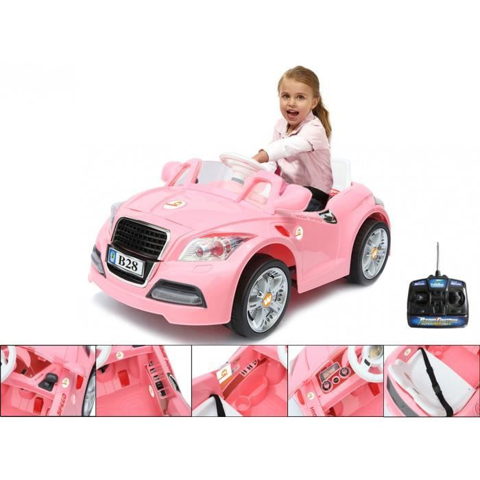 voiture electrique enfant fille achat vente jeux et. Black Bedroom Furniture Sets. Home Design Ideas