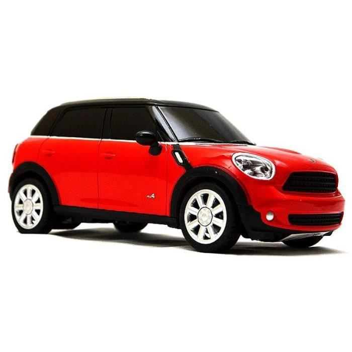 voiture rc mini cooper s countryman 124 rouge achat. Black Bedroom Furniture Sets. Home Design Ideas