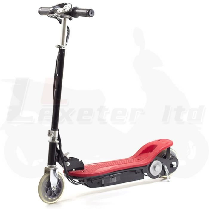 rouge scooter lectrique avec chargeur eu achat vente trottinette electrique rouge scooter. Black Bedroom Furniture Sets. Home Design Ideas