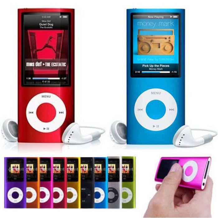folvo 8gb lecteur mp3 mp4 style ipod 16go vid o musique enregistrement radio jeux rouge. Black Bedroom Furniture Sets. Home Design Ideas