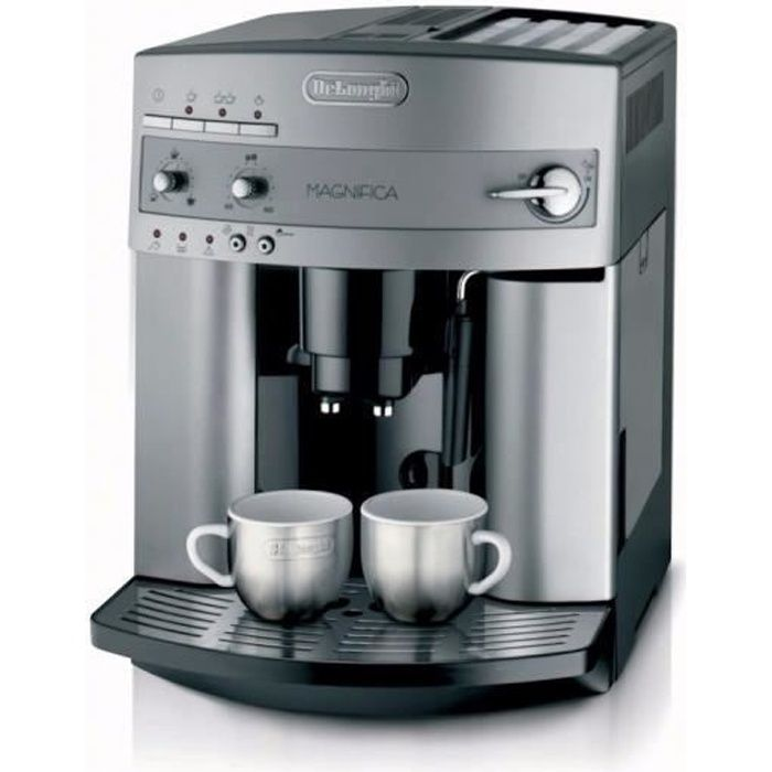 delonghi esam 3200 s machine expresso automatique avec broyeur magnifica argent achat. Black Bedroom Furniture Sets. Home Design Ideas