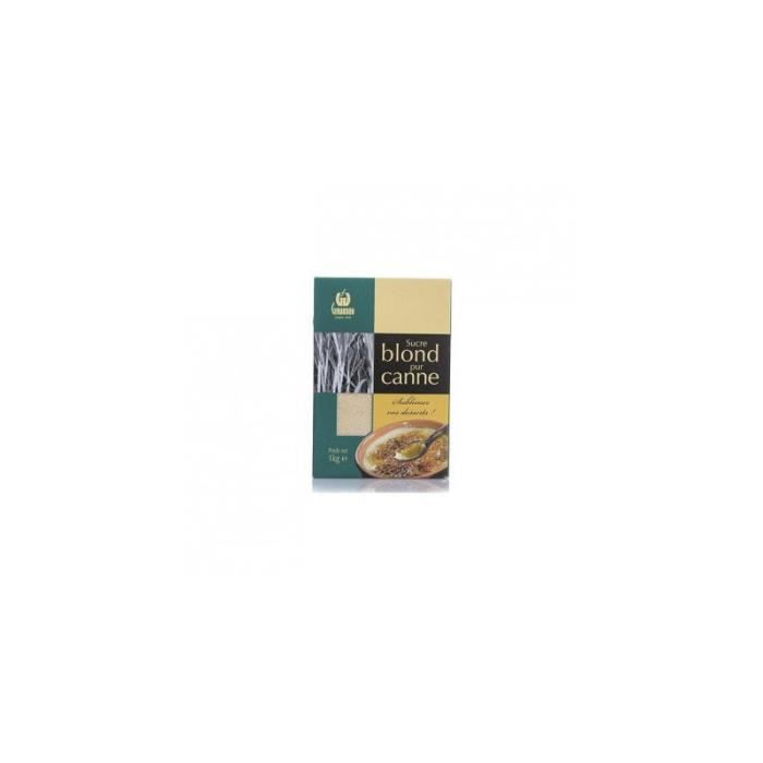 Sucre blond de canne 1kg achat vente sucre faux for Chambre de sucre coupon code