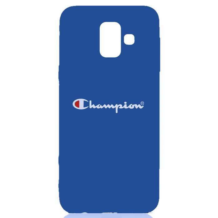 Coque Samsung Galaxy J6 Plus 2018NIKE Logo Noir Coque Bumper Housse Etui pour Samsung Galaxy J6 Plus 2018