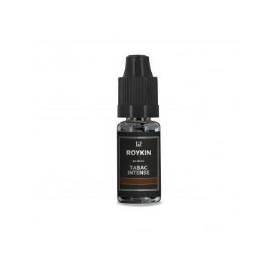 LIQUIDE E-liquide arôme tabac intense Roykin 0 mg / 10ml