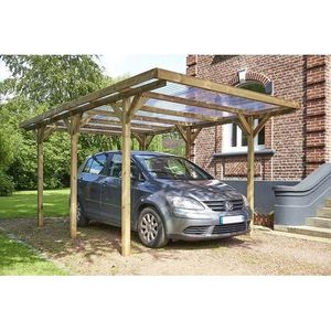 Carport Bricoman Amazing Asse Piano In Plastica Lavatoio Per Lavare - Car port bois