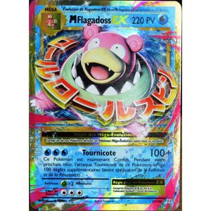 CARTE A COLLECTIONNER carte Pokémon 27-108 Méga Flagadoss EX 220 PV XY -