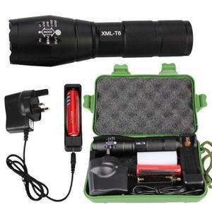 LAMPE DE POCHE Tactical XM-l T6 zoomable LED lampe torche réglabl