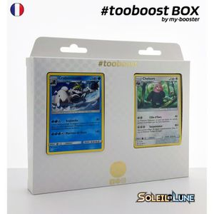 CARTE A COLLECTIONNER Coffret #tooboost CRABOMINABLE et CHELOURS - SM01