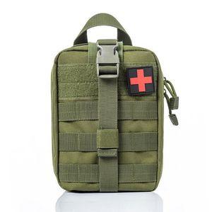 Sac de Jambe Tactique Militaire Pochette Trousse Kit de Premiers Soins Molle Sac de Cuisse Banane Randonn/ée Camping Airsoft,Brun