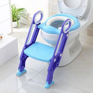 RÉDUCTEUR DE WC HOMFA Siège de Toilette Enfant Bébé Pliable et Rég
