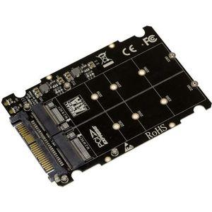 CARTE CONTROLEUR Adaptateur pour 2 SSD M2 vers U2 (68Pin SFF-8639).