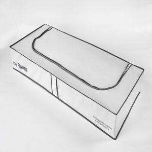 HOUSSE DE RANGEMENT COMPACTOR Housse extra-plate WOS blanche 107x46x16