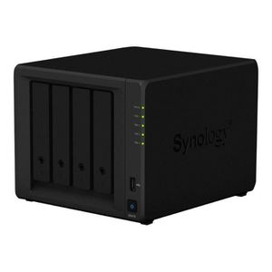 SERVEUR STOCKAGE - NAS  Synology Disk Station DS418 Serveur NAS 4 Baies RA