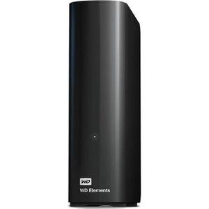 DISQUE DUR EXTERNE WESTERN DIGITAL Elements Desktop - 8To - Noir