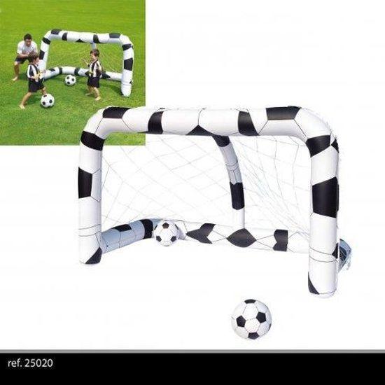 Ballon LIFETIM But Gonflable DE Football OU Waterpolo pour Piscine Flottant PNEUMATIQUE