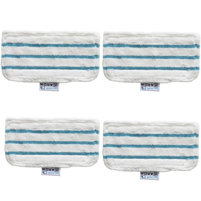 4 x Floor Washable Replacement Cleaner Steam Mop Pads For Black And Decker FSM16_Z103
