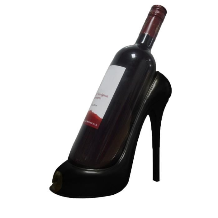 Casier à vin talon haut chaussure porte-bouteille stockage décoration de fête de mariage ornement Gif 726