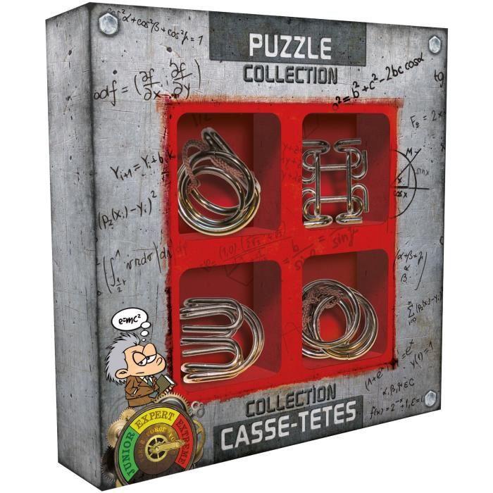 Collection casse-têtes métal Extrême aille Unique Coloris Unique