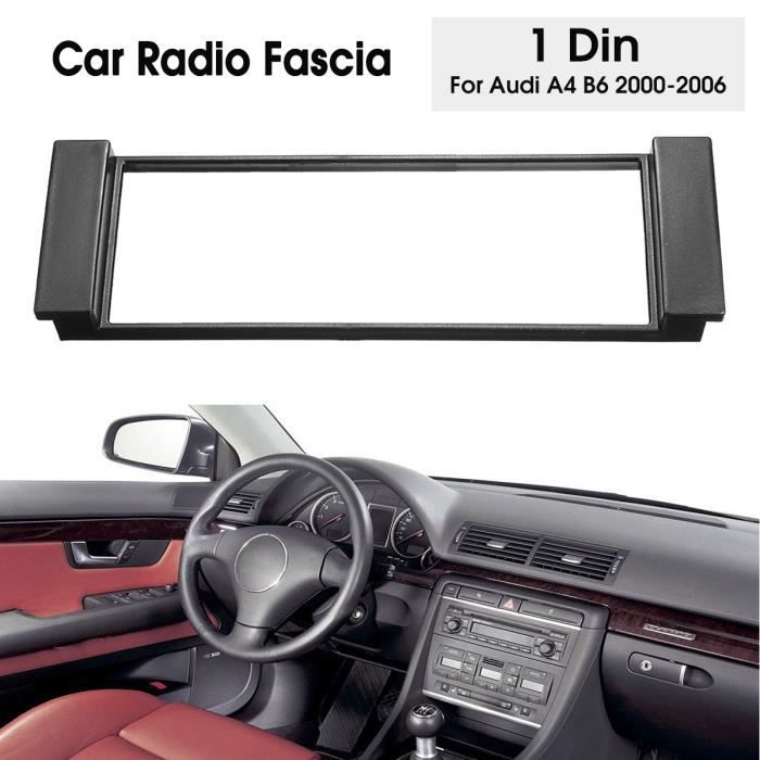 NEUFU Adaptateur Cadre Façade Autoradio 1 DIN Pour AUDI A4 B6 2000-2006