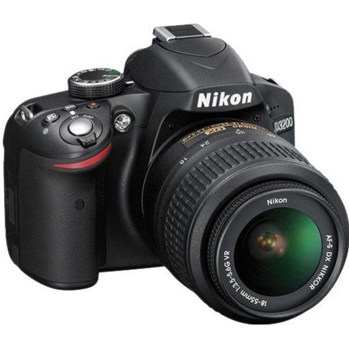 Nikon D3200+18-55 VR II