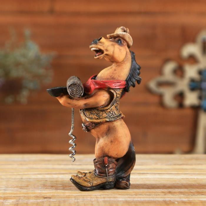 Ouvre-bouteille décoratif pratique créatif de cheval ouvre-bouteille tire-bouchon pour le TIRE-BOUCHON - DECAPSULEUR - LIMONADIER