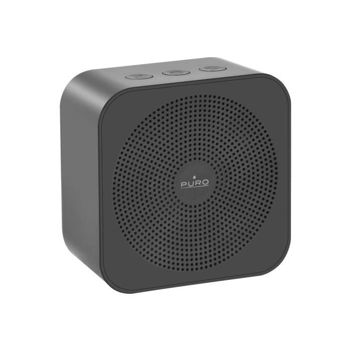 PURO - Enceinte nomade rechargeable Bluetooth V 4.2 - Gris