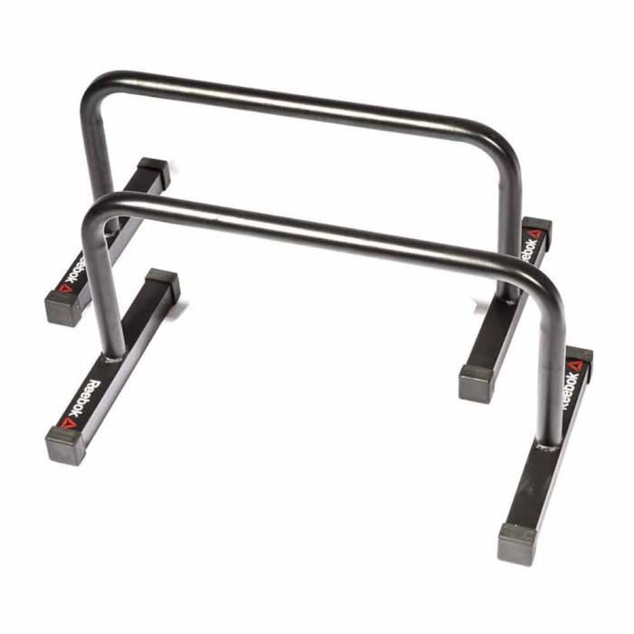 Machines d'exercice Stations de musculation Reebok Parallete Bars - 64 x 33 x 3 cm