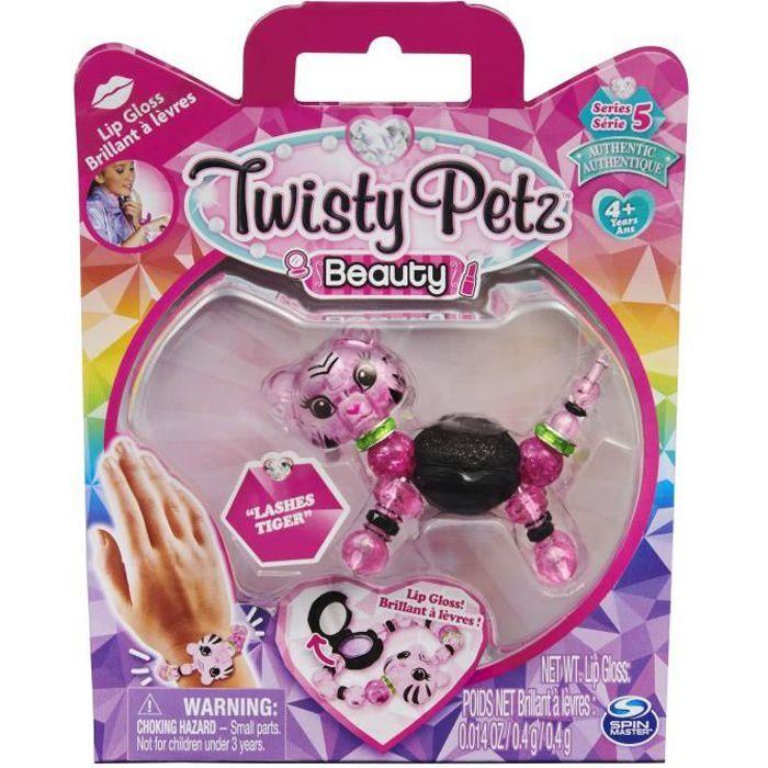 PACK BEAUTE TWISTY PETZ - 6058634 - Kit Bracelets Bijoux animaux à collectionner. Modèle Aléatoire