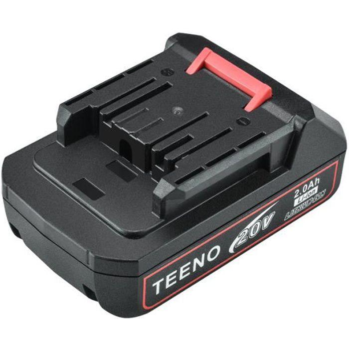 Batterie de remplacement pour TEENO Coupe-bordures 20V -916