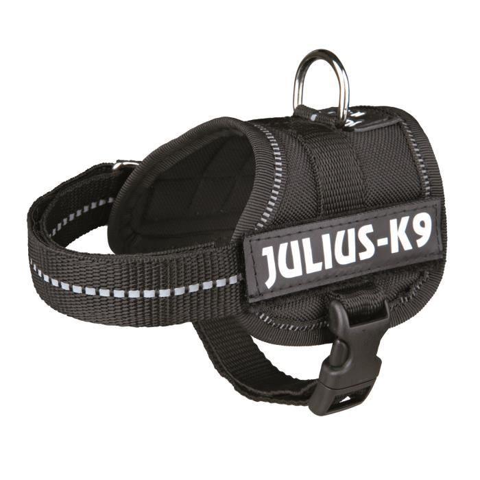 Harnais Power Julius-K9 - Baby 1 - XS : 30-40 cm-18 mm - Noir - Pour chien