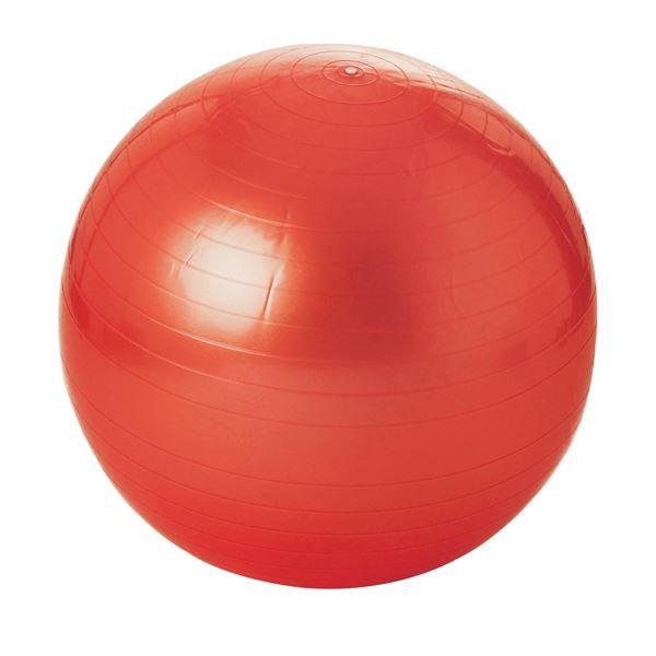Balle gymnique 65 cm rouge