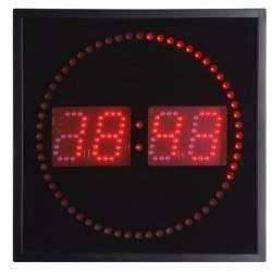 horloge led rouge murale achat vente horloge pvc. Black Bedroom Furniture Sets. Home Design Ideas