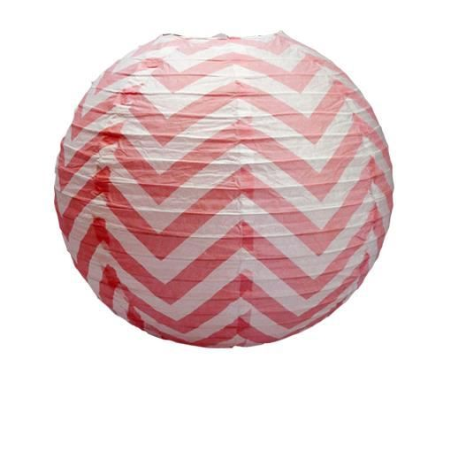 d co pour mariage f te anniversaire boule papier 40cm chevron rouge lot de 3 pi ces achat. Black Bedroom Furniture Sets. Home Design Ideas