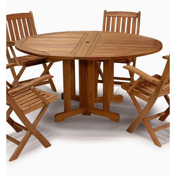 FSC pl… ronde bois Table de jardin Achat exotique 4 en Ovm8y0nwN
