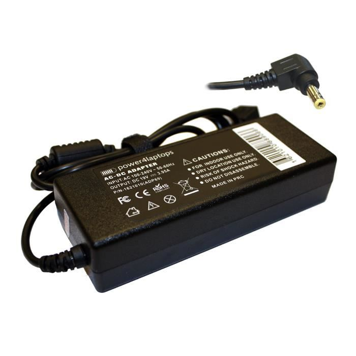 chargeur batterie toshiba pa-1750-09