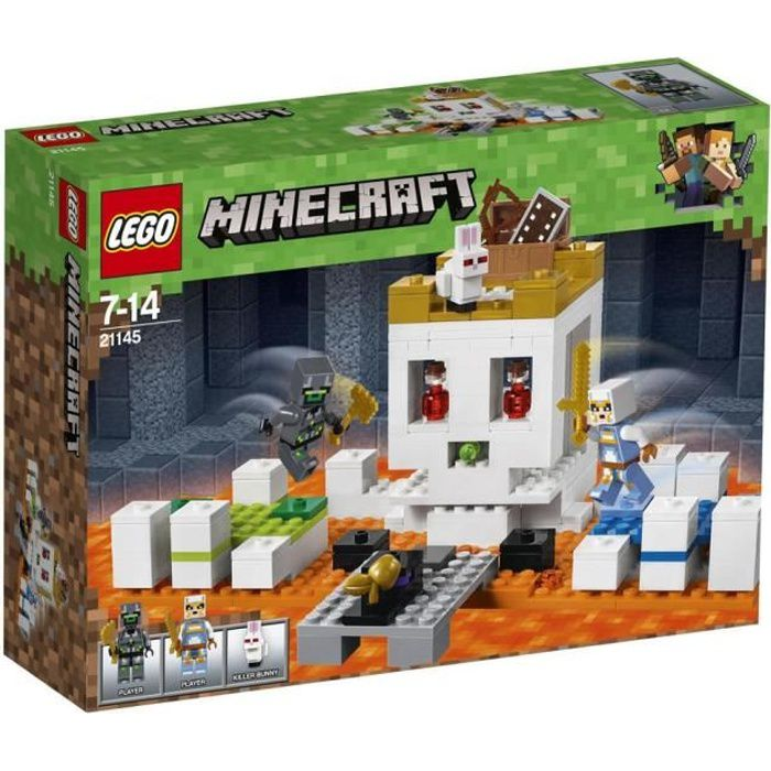 Photo de lego-minecraft-21145-le-crane-geant
