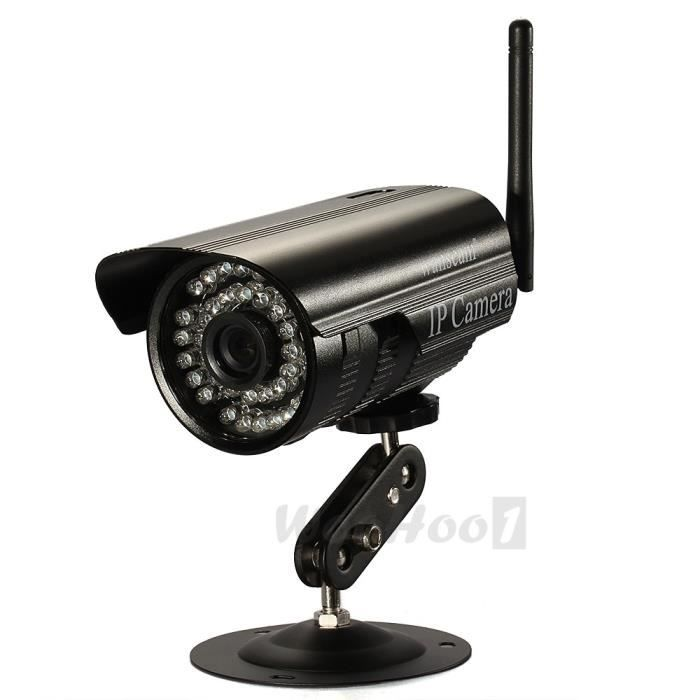 mini webcam cam ra cctv sans fil ip ir nocturne ext rieur